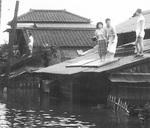 〈写真【2】〉過去にあった綱島の洪水の様子