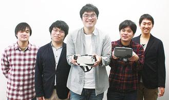 ゲームを開発した学生たち