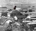 港北区役所の旧々庁舎(昭和20年代)写真中央=提供写真