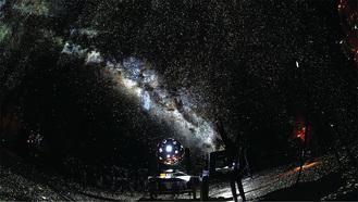 MEGASTARが映し出す星空