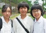 左から倉持さん、保田さん、西村さん