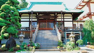 縁結びの会が行われる東照寺