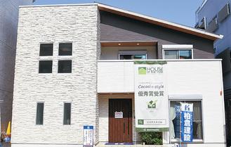 高田東にあるモデルハウス