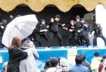 慶應大ダンスサークルの演技