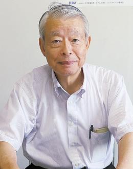 インタビューに答える佐藤代表取締役