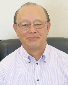 インタビューに答える平良代表取締役社長