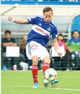 リーグ日本人最多タイ得点でチームを引っ張るFW・仲川輝人選手