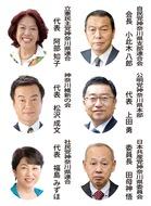 6党県代表が年頭所感