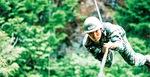 陸上自衛隊員時代(提供)