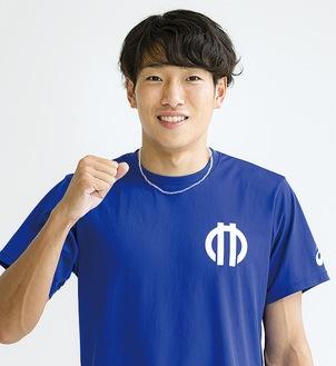 東京五輪代表に内定した泉谷選手=順天堂大学提供