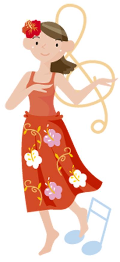 熟練の歌や踊り披露