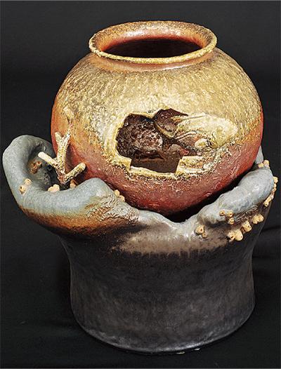 陶芸作品が県代表に