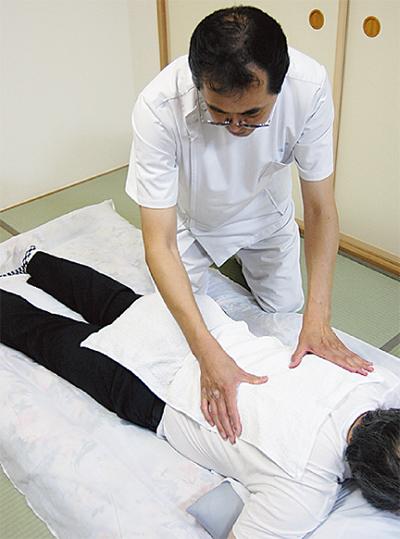 通院困難者に訪問治療