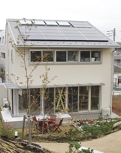 脱温暖化モデル住宅を整備
