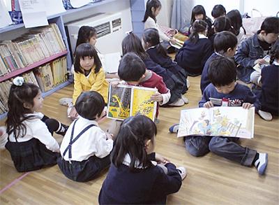 小学生と交流会