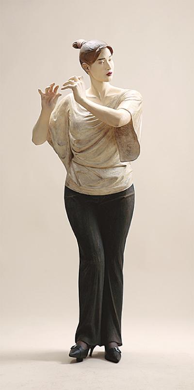 吉田直の彫刻展