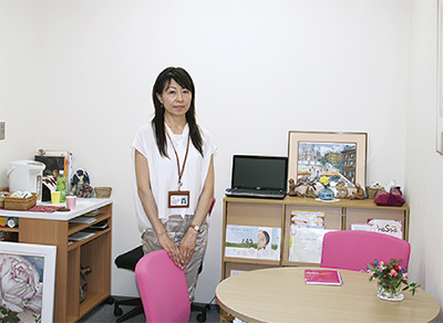 乳がん体験者が面接相談