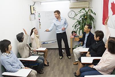 「継続」できる英会話教室がここに
