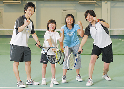 """冬休み""""子どもテニス""""教室"""