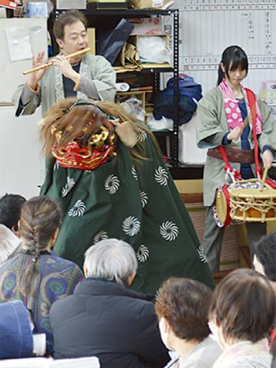 組長会議で新春祝う