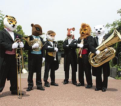 動物たちのコンサート