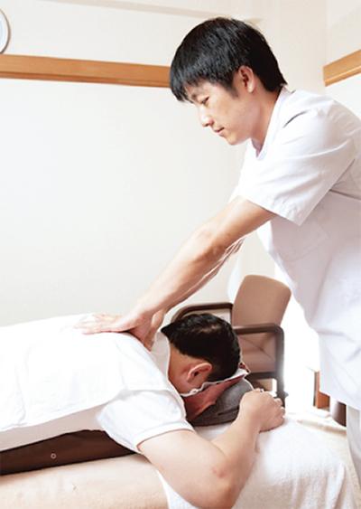 腰痛・肩こり…手技で改善