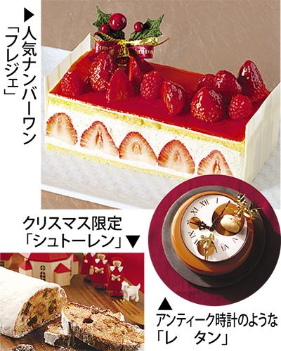 魅惑のクリスマスケーキ