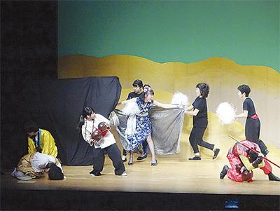 観客沸かせ県知事賞