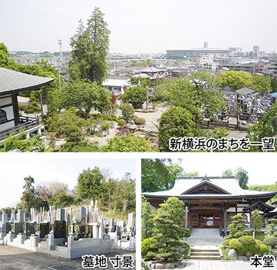緑豊かで心休まる墓苑