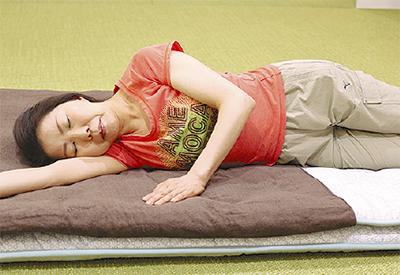 「寝返り」が健康の秘訣