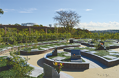 大切な絆つなぐ庭園墓地