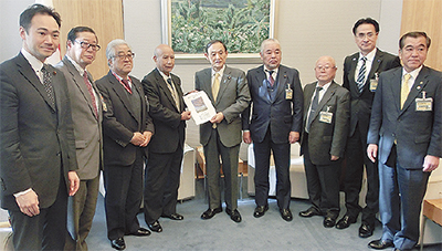 鶴見川整備を国に要望