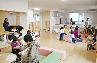 綱島に新たな子育て施設