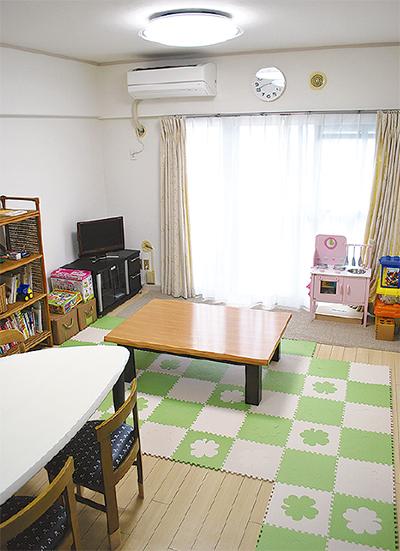 大豆戸町に育児相談施設