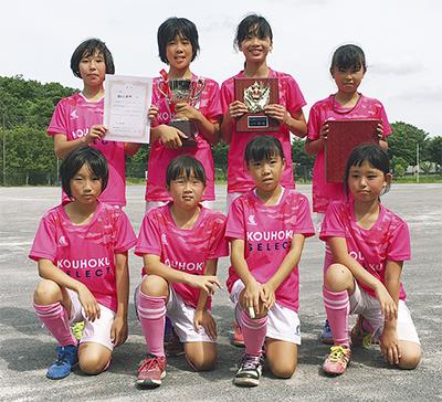 女子サッカーチーム躍進