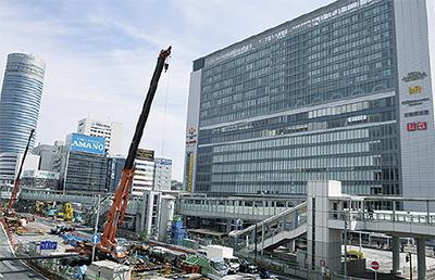 現在のキュービックプラザ新横浜(3月15日撮影)