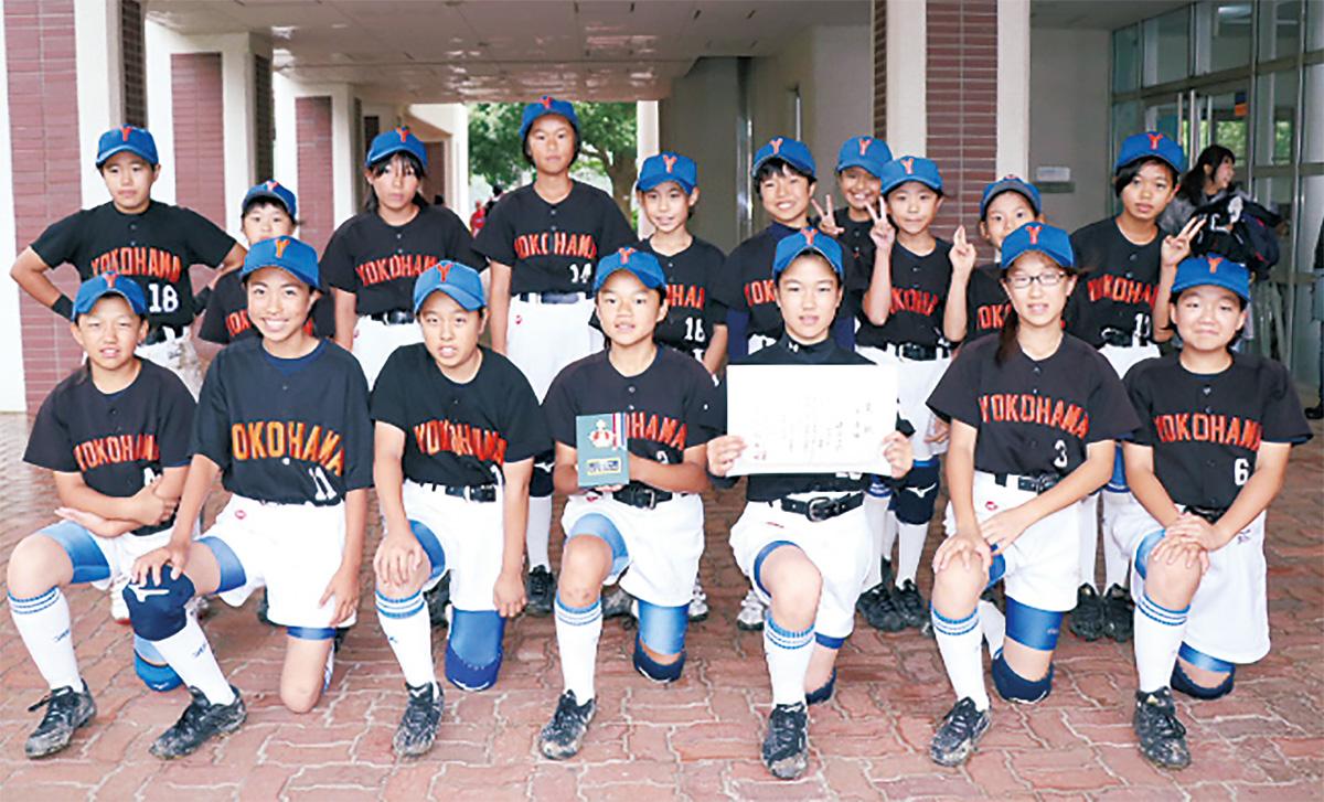 全国出場を決めた横浜キッズのメンバー