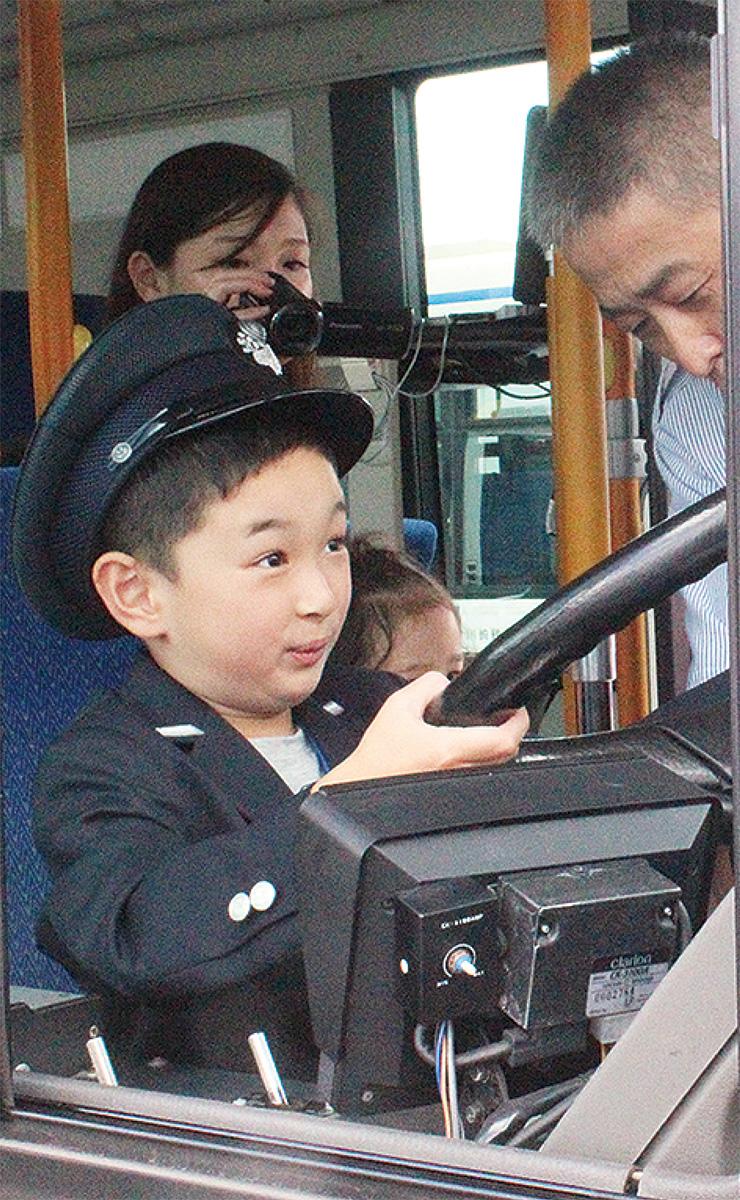 子ども乗務員が登場?