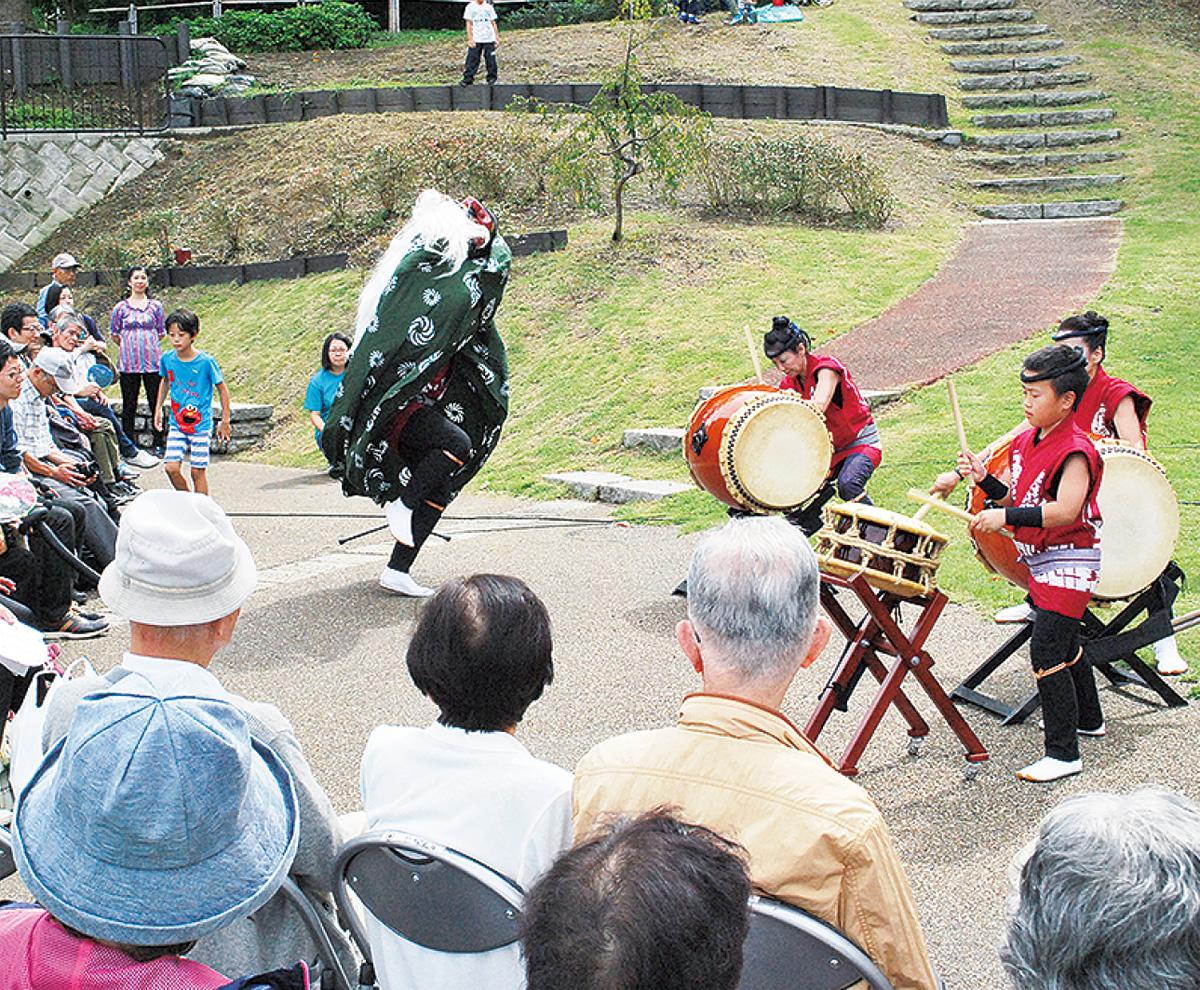 自然の中の音楽祭