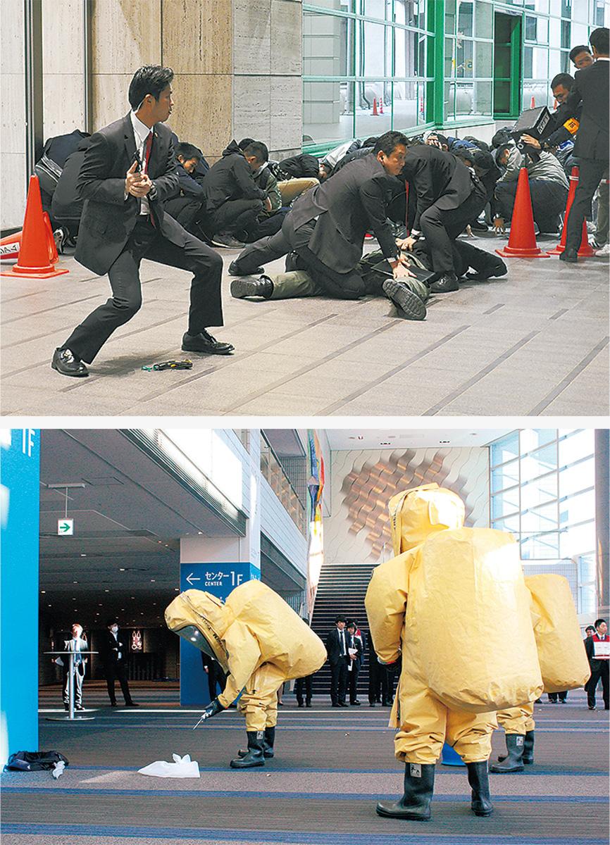 テロ対策訓練、本格化