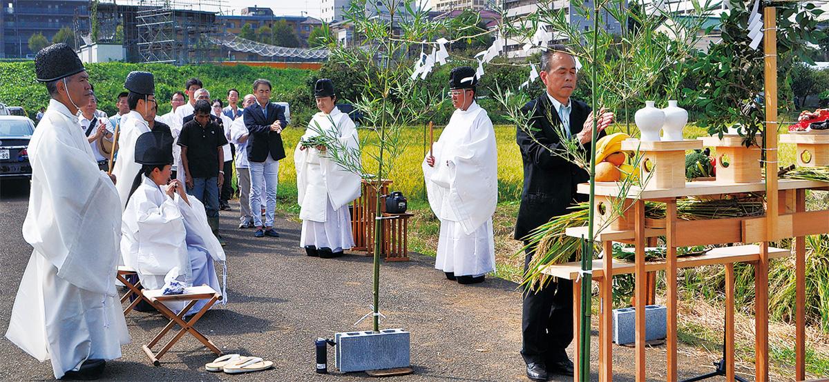 五穀豊穣祝い神事 神社庁横浜三支部   港北区   タウンニュース