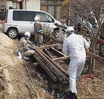 仙台市宮城野区でのボランティア活動