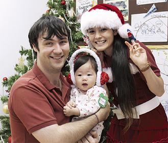 欧米のクリスマスを体験するチャンス!