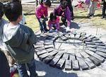 子どもたちの手で「マイマイベンチ」を作った