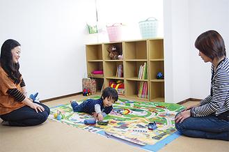 親子の憩いの場として活用が期待される「親と子のつどいの広場つづき」(南山田3の14の19)。登録すれば気軽に利用できる