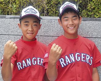 気合十分の西ノ坊(左)と瀬川選手