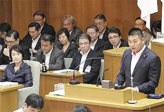 提案者を代表して議会答弁