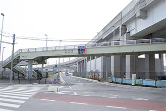 中山駅方面への通行が可能に(川和町駅交差点から)