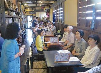 第1回のカフェには34人が参加した(山田さん提供)