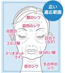 様々な部位の症状に対応